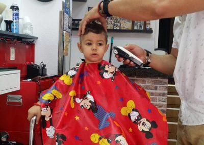 peluqueria para niños en la camella